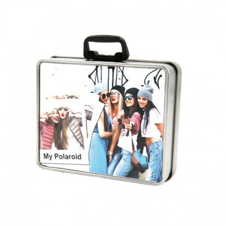 Box valigetta 12x10 h.3 cm. in Alluminio
