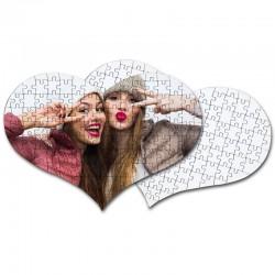 Foto Puzzle Cuore A4 (119 Tasselli)